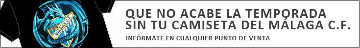 Camiseta del Malaga C.F. por Congelados M-Gutiérrez